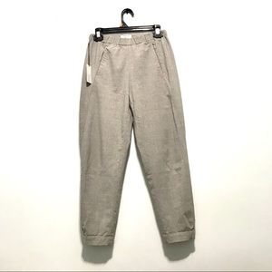 Aritzia Babaton dexter wool pants in grey